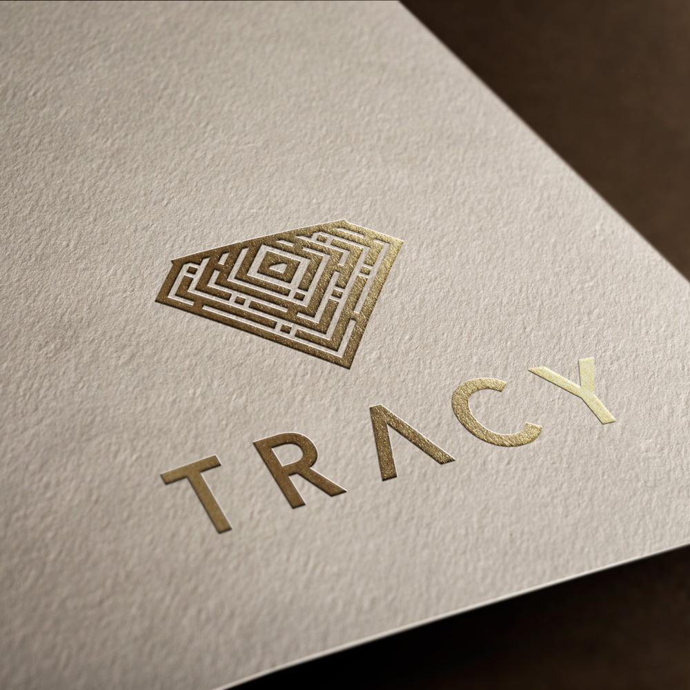 diseño logo diamante