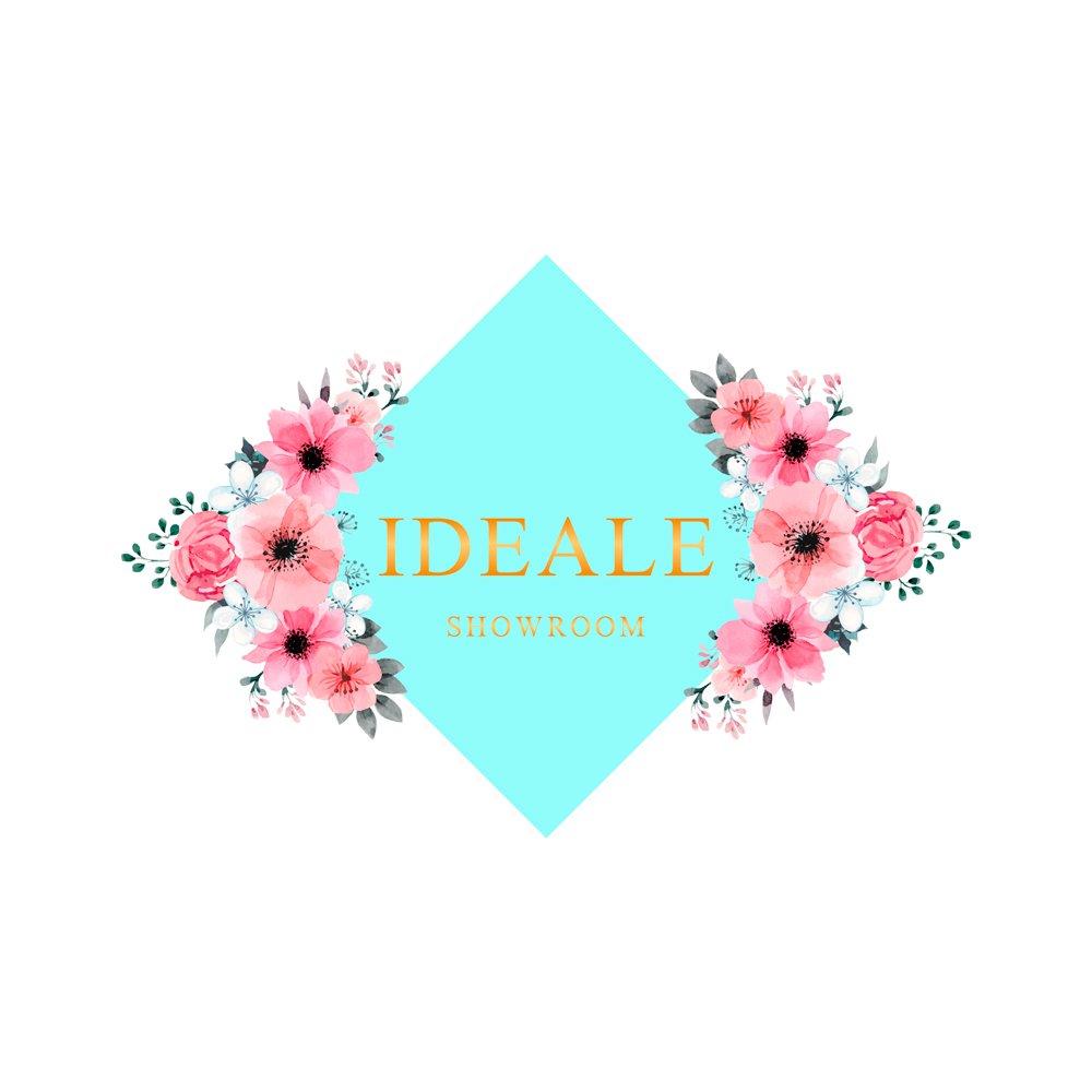 diseño de imagotipo floral