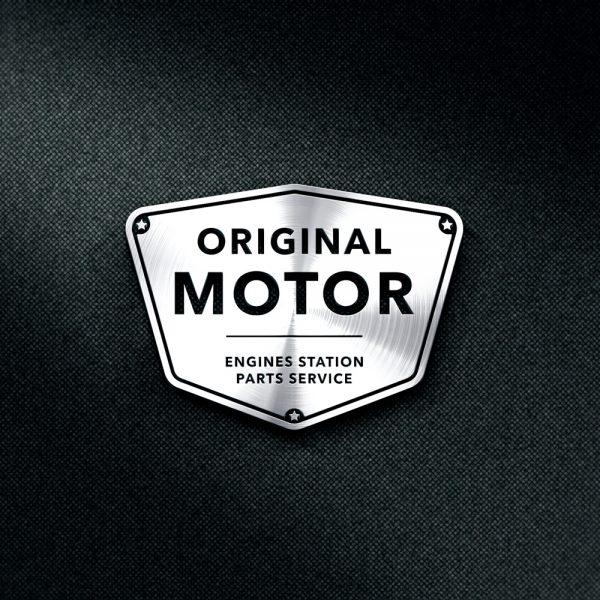 logo 3d motor