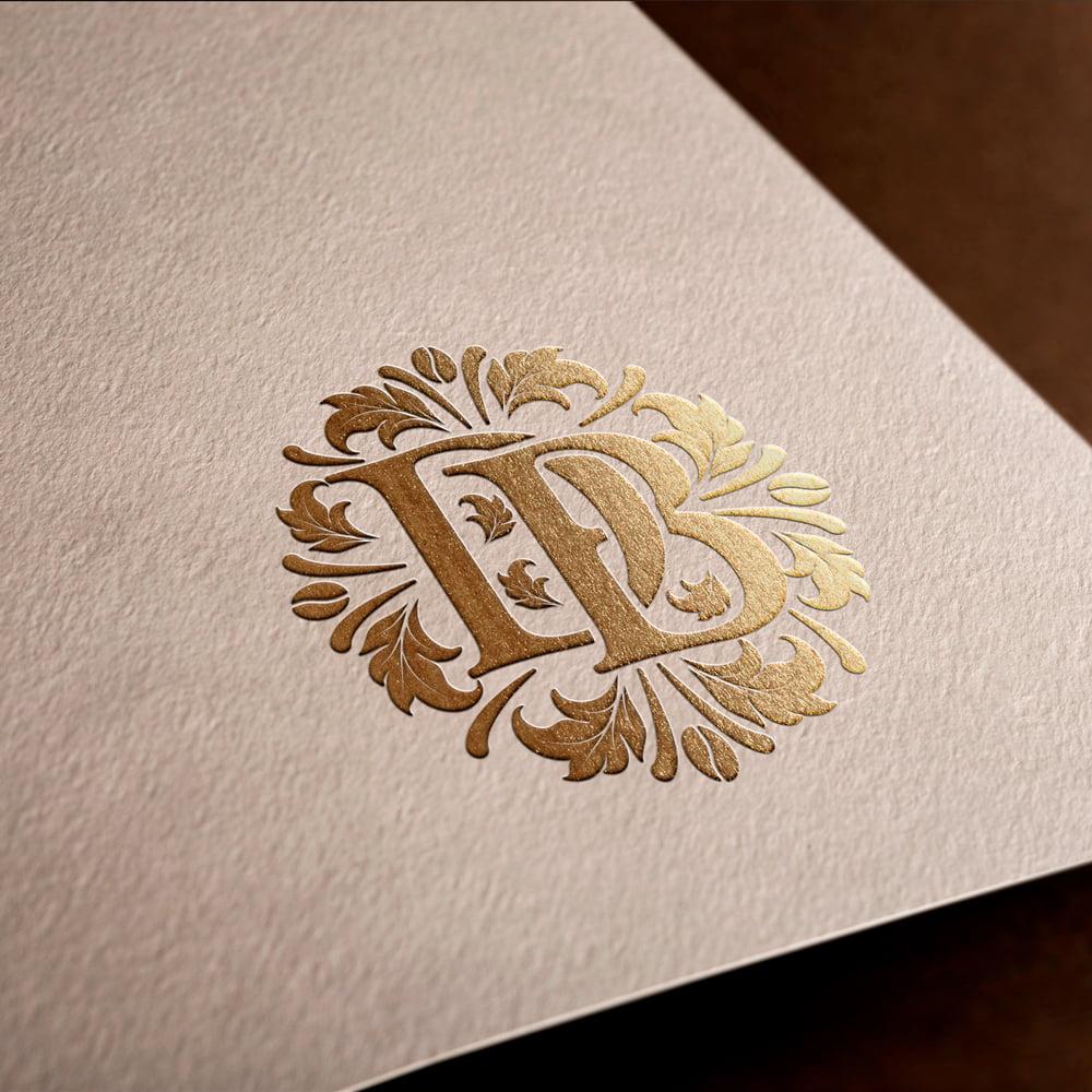 Diseñador logotipos monogramas DB