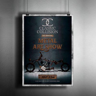 diseño cartel publicidad