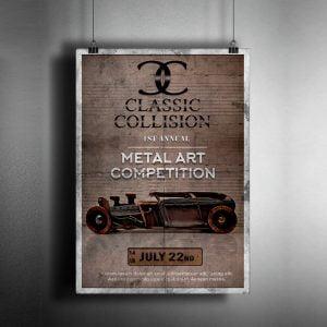 diseño editorial cartel campaña publicitaria