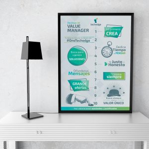 diseño infografía corporativa