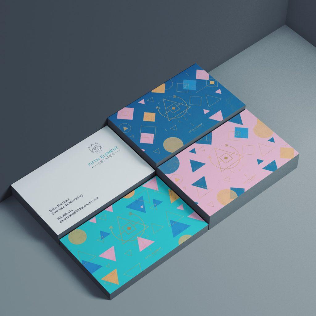 diseño de tarjetas de visita profesionales originales